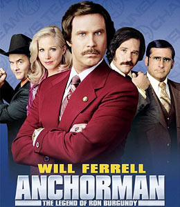 Anchorman - The Legend of Ron Burgundy sound clips